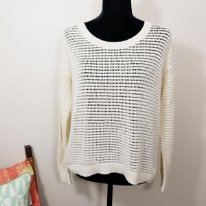 Madewell Northshore Pullover Sweater Top Medium